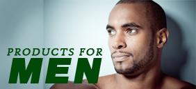 Afro producten voor mannen