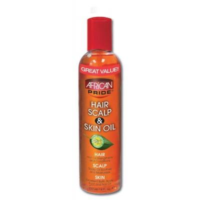 African Pride hair scalp and skin oil 237 ml
