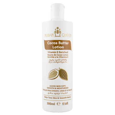 Nubian Queen Cocoa Butter Lotion 500ml